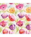 Inpakpapier bloemen print 26