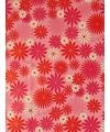 Inpakpapier bloemen print 8