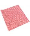 Inpakpapier rood wit patroon