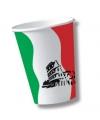 Italie wegwerp bekers 10 stuks