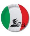 Italie wegwerp bordjes 10 stuks