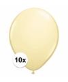 Ivoren ballonnen 10 stuks