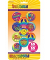 Jaren 60 hippie buttons 10 stuks