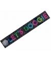 Jaren 70 disco banner lets boogie