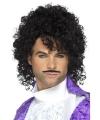 Jaren 80 popster purple verkleed set