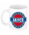 Jayce naam koffie mok beker 300 ml