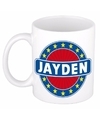 Jayden naam koffie mok beker 300 ml