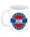 Job naam koffie mok beker 300 ml