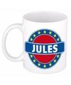 Jules naam koffie mok beker 300 ml