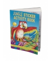 Jungle kleurboek met stickers