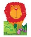 Jungle uitnodigingen 8 stuks