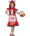 Jurkje roodkapje voor meisjes