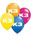 K3 feest ballonnen
