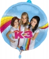 K3 feest folieballon