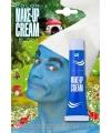 Kabouter schmink blauw