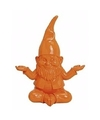 Kabouter spaarpot oranje