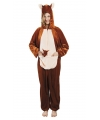 Kangoeroe dierenkostuum voor dames
