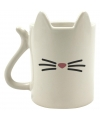 Katten mok wit 350 ml