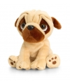 Keel toys pluche mopshond knuffel 20 cm