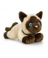 Keel toys pluche siamese katten poezen knuffel 30 cm