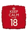 Keep calm folie ballon 18
