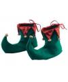 Kerst elf schoenen van stof