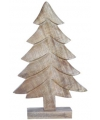 Kerst houten kerstboom 36 cm