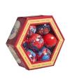 Kerst kerstballen spiderman 7 stuks