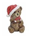 Kerst kerstbeer beeldje 12 cm