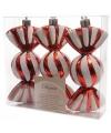 Kerst ophang snoepjes 3 stuks 11 cm