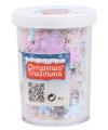 Kerst sneeuwvlokken confetti parelmoer