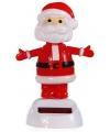 Kerst solar dansende kerstman 10 cm