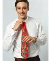 Kerst stropdas met muziek