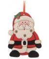 Kerstboom decoratie kerstman 12 cm