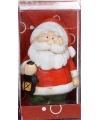 Kerstfiguur beeldje kerstman 7 cm