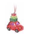 Kersthanger auto met licht type 2