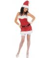 Kerstjurkje flanel voor dames