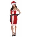 Kerstjurkje jolly holly voor dames