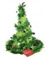 Kerstmuts groene kerstboom
