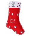 Kerstsok santa claws voor katten