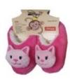 Kinder dieren sloffen kat roze
