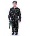 Kinder leger commando kostuum