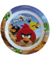Kinder ontbijtbord angry birds 22 cm