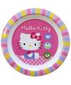 Kinder ontbijtbord hello kitty 22 cm