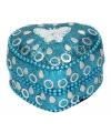 Kinder tanden doosje vlinder blauw 6 cm