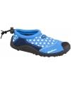 Kinder waterschoen blauw met sterretjes