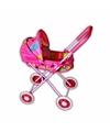 Kinderwagen roze gekleurd 55 cm
