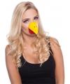 Kip dierenneus masker voor volwassenen