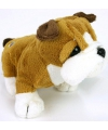 Kleine bulldog knuffel 15 cm