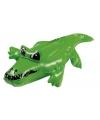 Kleine opblaasbare krokodil 30 cm